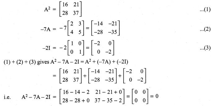 Samacheer Kalvi 11th Maths Solutions Chapter 7 Matrices and Determinants Ex 7.1 58