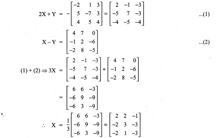 Samacheer Kalvi 11th Maths Solutions Chapter 7 Matrices and Determinants Ex 7.1 63