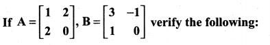 Samacheer Kalvi 11th Maths Solutions Chapter 7 Matrices and Determinants Ex 7.1 71