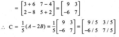 Samacheer Kalvi 11th Maths Solutions Chapter 7 Matrices and Determinants Ex 7.1 78