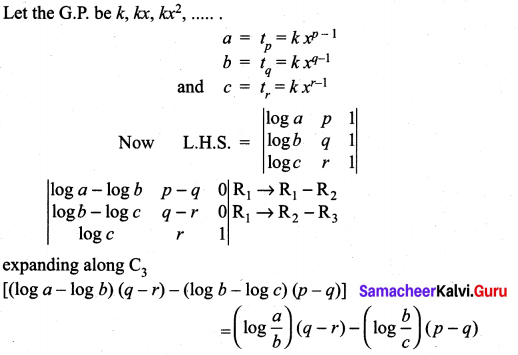 Samacheer Kalvi 11th Maths Solutions Chapter 7 Matrices and Determinants Ex 7.2 27