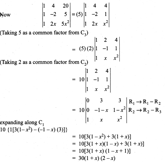 Samacheer Kalvi 11th Maths Solutions Chapter 7 Matrices and Determinants Ex 7.2 39