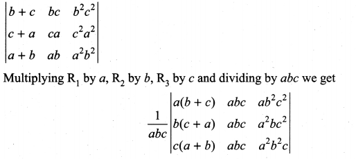 Matrices And Determinants Class 11 State Board Solutions Samacheer Kalvi Chapter 7 Ex 7.2