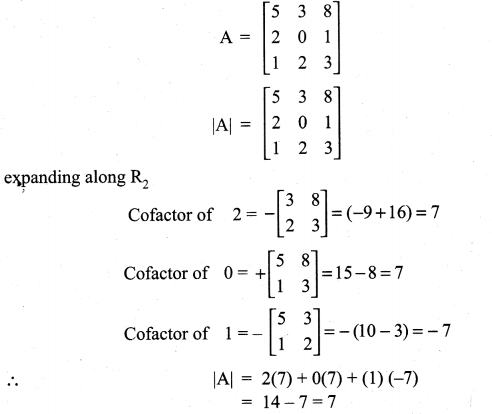 Samacheer Kalvi 11th Maths Solutions Chapter 7 Matrices and Determinants Ex 7.2 44