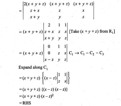 Samacheer Kalvi 11th Maths Solutions Chapter 7 Matrices and Determinants Ex 7.2 66