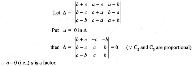 Samacheer Kalvi 11th Maths Solutions Chapter 7 Matrices and Determinants Ex 7.3 4