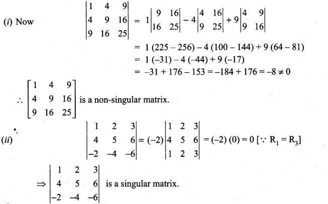Samacheer Kalvi 11th Maths Solutions Chapter 7 Matrices and Determinants Ex 7.4 14