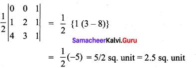 Samacheer Kalvi 11th Maths Solutions Chapter 7 Matrices and Determinants Ex 7.4 2