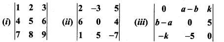 Samacheer Kalvi 11th Maths Solutions Chapter 7 Matrices and Determinants Ex 7.4 4
