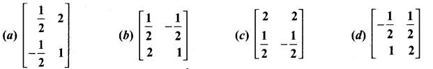 Samacheer Kalvi 11th Maths Solutions Chapter 7 Matrices and Determinants Ex 7.5 1