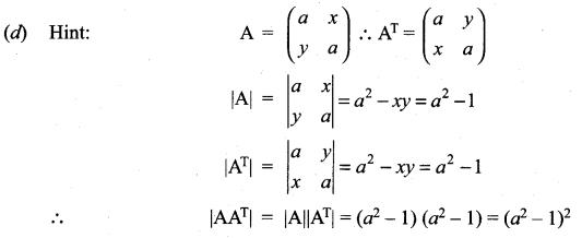Samacheer Kalvi 11th Maths Solutions Chapter 7 Matrices and Determinants Ex 7.5 14