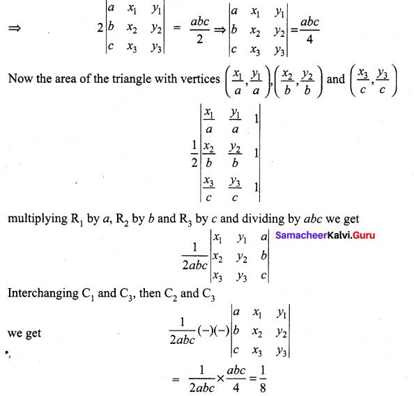 Samacheer Kalvi 11th Maths Solutions Chapter 7 Matrices and Determinants Ex 7.5 20