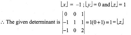 Samacheer Kalvi 11th Maths Solutions Chapter 7 Matrices and Determinants Ex 7.5 30