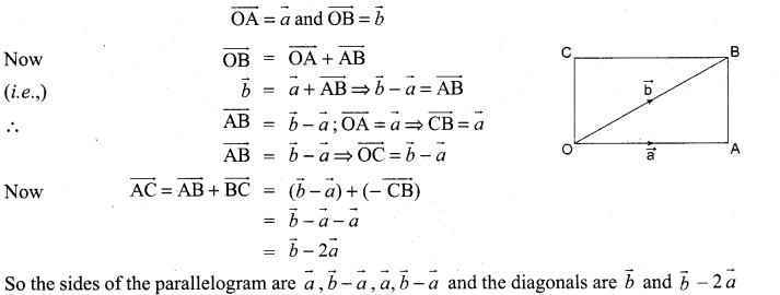 Samacheer Kalvi 11th Maths Solutions Chapter 8 Vector Algebra - I Ex 8.1 11