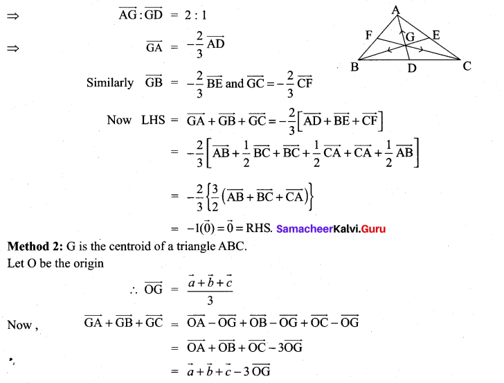 Samacheer Kalvi 11th Maths Solutions Chapter 8 Vector Algebra - I Ex 8.1 14