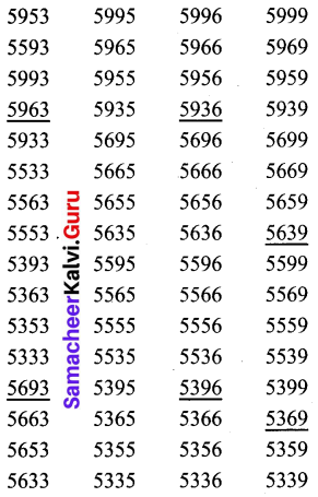 Samacheer Kalvi 6th Maths Solutions Term 1 Chapter 6 Information Processing Intext Questions 138 Q1.2