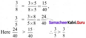 Samacheer Kalvi 6th Maths Solutions Term 3 Chapter 1 Fractions Intext Questions 13