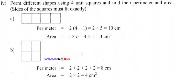Samacheer Kalvi 6th Maths Solutions Term 3 Chapter 3 Perimeter and Area Intext Questions 64