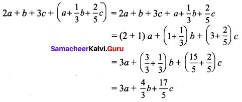 Samacheer Kalvi 7th Maths Solutions Term 1 Chapter 3 Algebra Ex 3.4 1