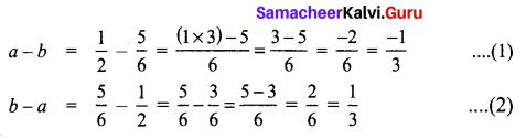 Samacheer Kalvi 8th Maths Term 1 Chapter 1 Rational Numbers Additional Questions 11
