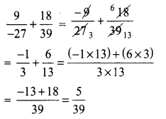 Samacheer Kalvi 8th Maths Term 1 Chapter 1 Rational Numbers Additional Questions 6