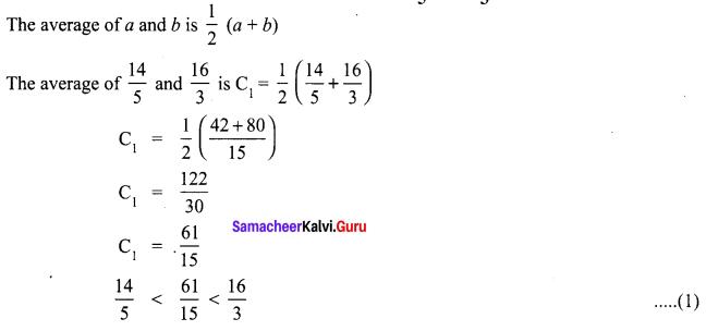 8th Maths 1.1 Samacheer Kalvi Term 1 Chapter 1 Rational Numbers