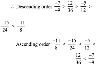 Samacheer Kalvi 8th Maths Term 1 Chapter 1 Rational Numbers Ex 1.1 26