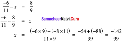 Samacheer Kalvi 8th Maths Term 1 Chapter 1 Rational Numbers Ex 1.1 30