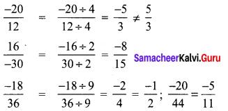 Samacheer Kalvi 8th Maths Term 1 Chapter 1 Rational Numbers Ex 1.1 38