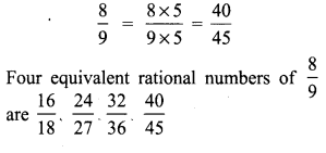 8th Standard Maths Exercise 1.1 Answers Samacheer Kalvi Term 1 Chapter 1 Rational Numbers