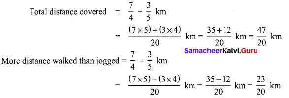 Samacheer Kalvi 8th Maths Term 1 Chapter 1 Rational Numbers Ex 1.3 12