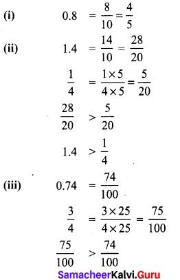 Samacheer Kalvi 8th Maths Term 1 Chapter 1 Rational Numbers Intext Questions 1