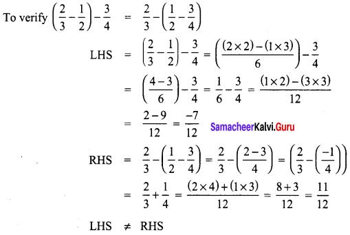 Samacheer Kalvi 8th Maths Term 1 Chapter 1 Rational Numbers Intext Questions 13