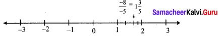 Samacheer Kalvi 8th Maths Term 1 Chapter 1 Rational Numbers Intext Questions 7