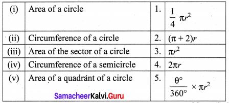 8th Maths Exercise 2.1 Solutions Term 1 Chapter 2 Measurements Samacheer Kalvi