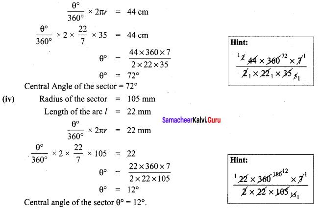 Samacheer Kalvi 8th Maths Term 1 Chapter 2 Measurements Ex 2.1 10