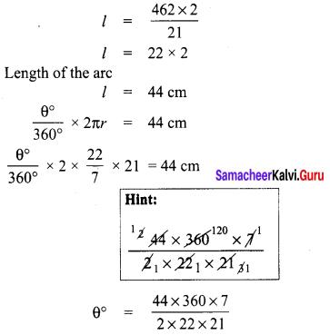 Samacheer Kalvi 8th Maths Term 1 Chapter 2 Measurements Ex 2.1 8