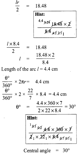 Samacheer Kalvi 8th Maths Term 1 Chapter 2 Measurements Ex 2.1 9