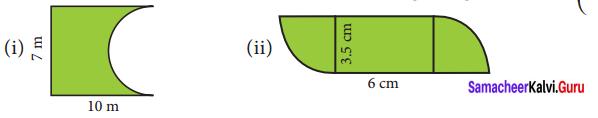 8th Maths Exercise 2.2 Solutions Term 1 Chapter 2 Measurements Samacheer Kalvi