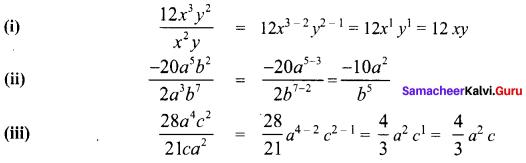 Samacheer Kalvi 8th Maths Term 1 Chapter 3 Algebra Intext Questions 625