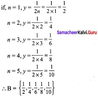 Set Language Maths 9th Class Chapter 1 Samacheer Kalvi Ex 1.1