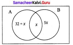 9th Maths Exercise 1.6 Samacheer Kalvi Chapter 1 Set Language