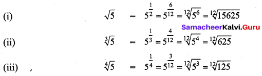 Samacheer Kalvi 9th Maths Chapter 2 Real Numbers Additional Questions 7