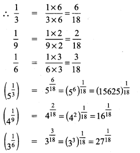 9th Maths Exercise 2.6 Solutions Chapter 2 Real Numbers Samacheer Kalvi