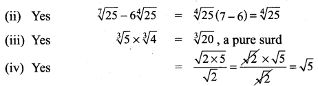 9th Class Math Exercise 2.6 Solution Chapter 2 Real Numbers Samacheer Kalvi