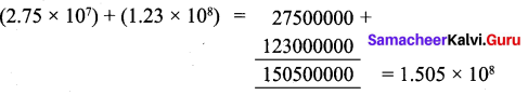 Samacheer Kalvi 9th Maths Chapter 2 Real Numbers Ex 2.8 3
