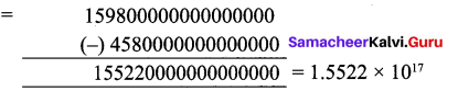 Samacheer Kalvi 9th Maths Chapter 2 Real Numbers Ex 2.8 4