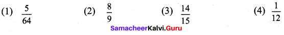 Samacheer Kalvi 9th Maths Chapter 2 Real Numbers Ex 2.9 1