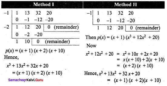 Samacheer Kalvi 9th Maths Chapter 3 Algebra Additional Questions 106