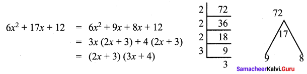 Samacheer Kalvi 9th Maths Chapter 3 Algebra Additional Questions 71